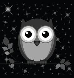 Owl stars vector
