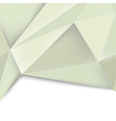 Green crystal structured divided background vector