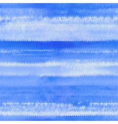 Beautiful blue seamless knitted pattern vector
