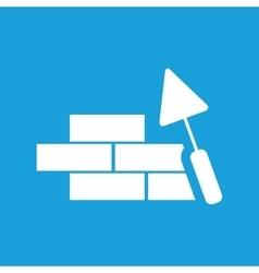 Building wall icon vector