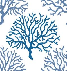 Coral print vector