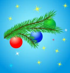 Christmas decoration design vector