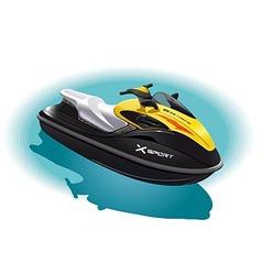 Water bike vector