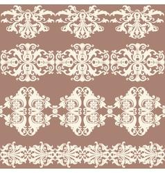 Border banner seamless pattern vector