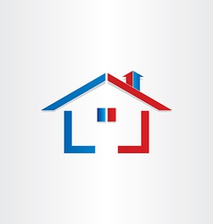 Real estate house home icon vector