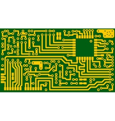 Circuit board card vector