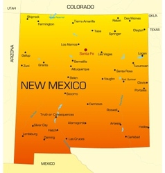 New mexico vector