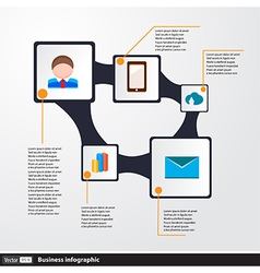 Design infographics concept with icons vector