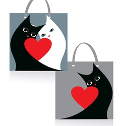Package cats vector