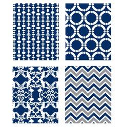 Backgrounds set pattern wallpaper vector
