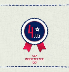 America 4th july background vector