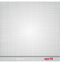 Abstract white vintage texture background vector