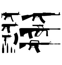 Rifles vector