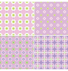 Pastel patterns vector