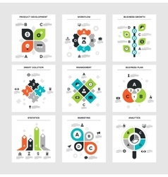 Business infographics vector