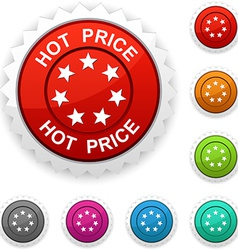 Hot price award vector