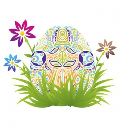 Easter backgrounds vector