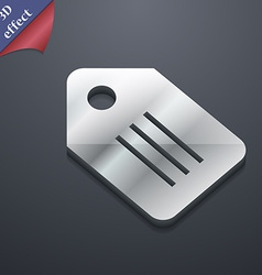Special offer label icon symbol 3d style trendy vector