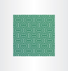 Green square sameless pattern background vector