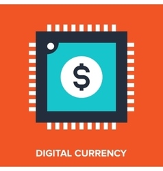 Digital currency vector