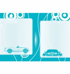 Automobile background vector