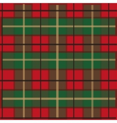 Tartan checked material vector