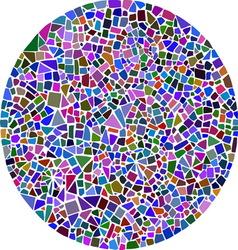 Round mosaic vector