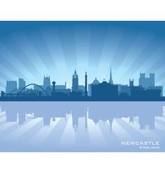 Newcastle england skyline vector