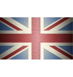 Grunge flag of the united kingdom vector