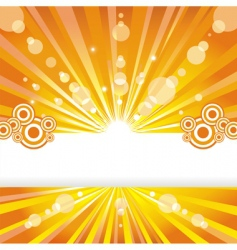 Solar background vector