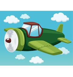 Plane on sky vector