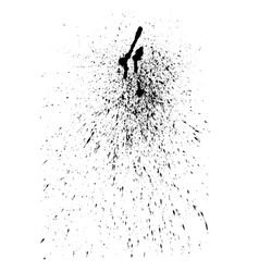 Abstract ink splatter for your grunge vector