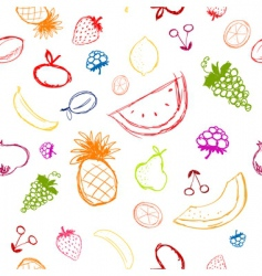 Fruit sketch vector