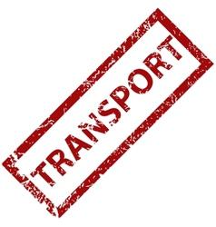 Transport rubber stamp vector