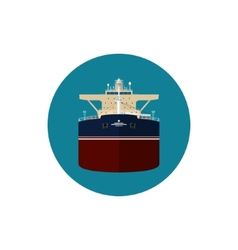 Icon tanker vector