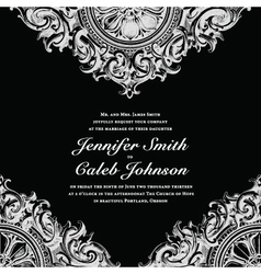Wedding invite cards vector