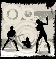 Grunge concert vector