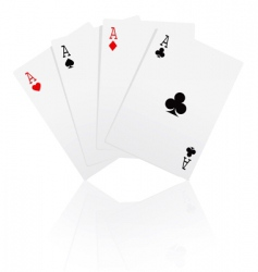 Game cards vector
