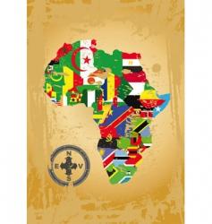 Africa map vector