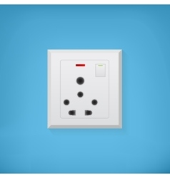 Electric socket vector