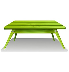 A green table vector