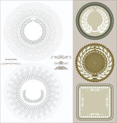 Document seals vector