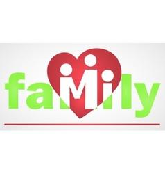 Family logotype vector