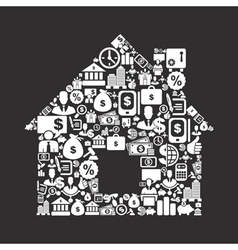 Business the house vector