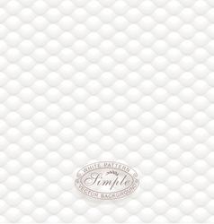 White textured wallpaper vector