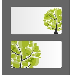 Company business card vector