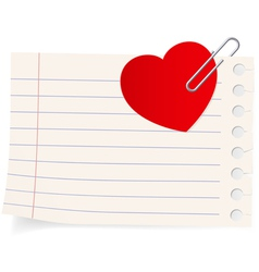 Love letter icon vector
