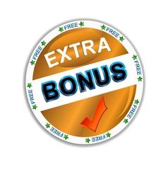 Bonus icon vector