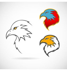 Eagles set vector