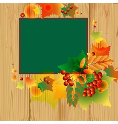 Autumn backdrop vector